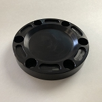 James Way Toyota Hub Cover Kit - Black